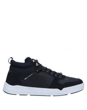Высокие кеды и кроссовки ENRICO COVERI. Цвет: темно-синий