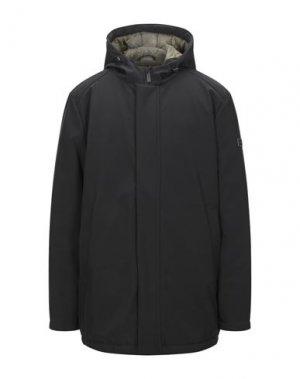Пальто BREKKA. Цвет: черный