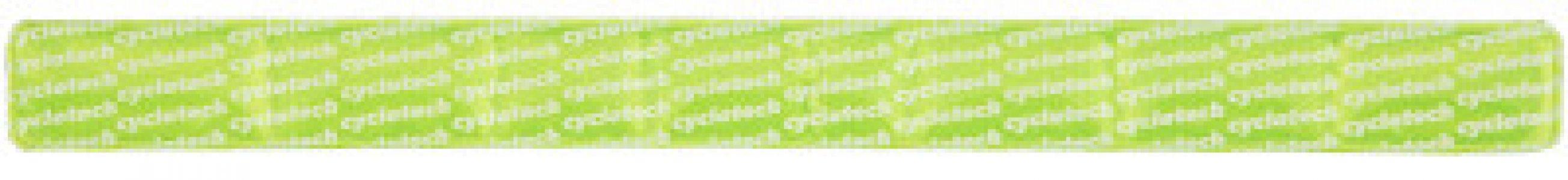 Браслет светоотражающий Cyclotech. Цвет: зеленый