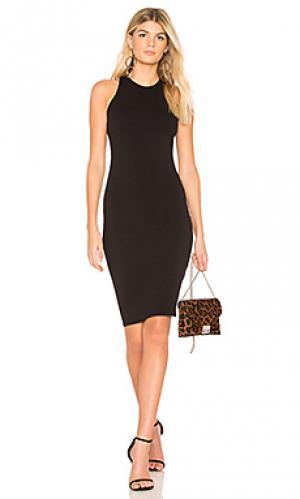 Платье virgo LA Made. Цвет: черный