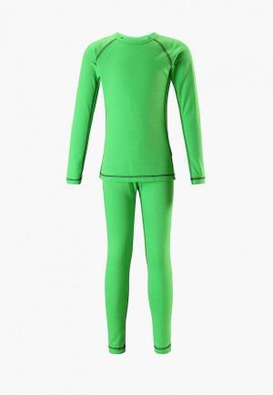 Термобелье Reima Lani. Цвет: зеленый