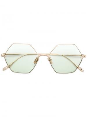 Солнцезащитные очки California Signal Frency & Mercury. Цвет: зеленый