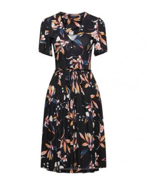 Короткое платье FRENCH CONNECTION. Цвет: темно-синий