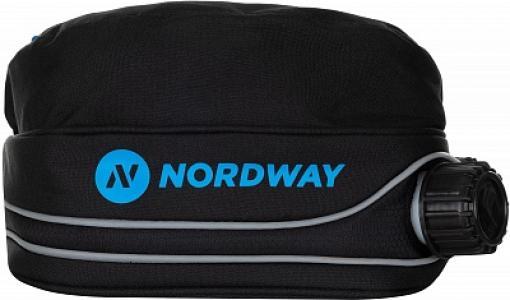 Поясная сумка с термосом Nordway. Цвет: черный
