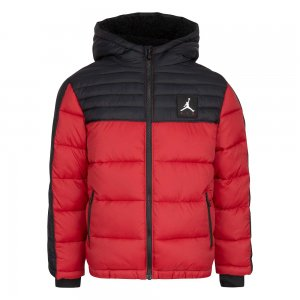 Color Blocked Air Puffer Jordan. Цвет: красный