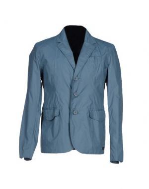 Пиджак 313 TRE UNO. Цвет: грифельно-синий