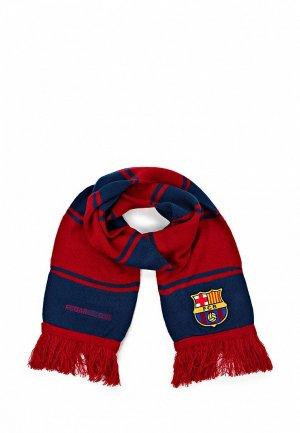 Шарф FC Barcelona FC001GUASB11. Цвет: красный