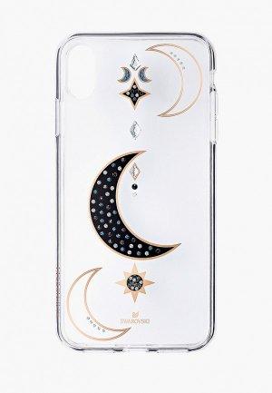 Чехол для iPhone Swarovski® DUO. Цвет: белый