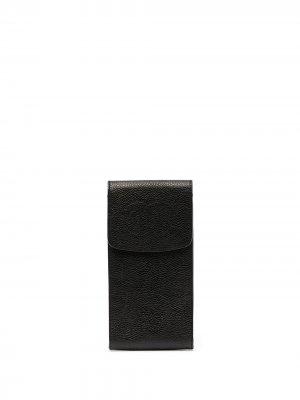 Футляр для солнцезащитных очков с логотипом CC Chanel Pre-Owned. Цвет: черный