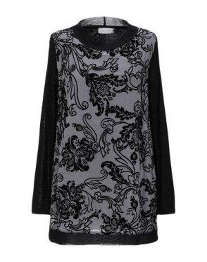Блузка CLUB VOLTAIRE. Цвет: серый