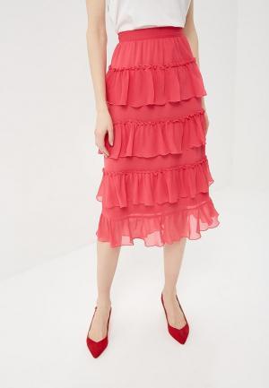 Юбка Vero Moda. Цвет: розовый