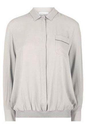 Блуза FABIANA FILIPPI. Цвет: серый