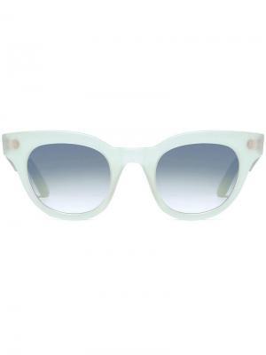 Матовые солнцезащитные очки Turkana L.G.R. Цвет: синий