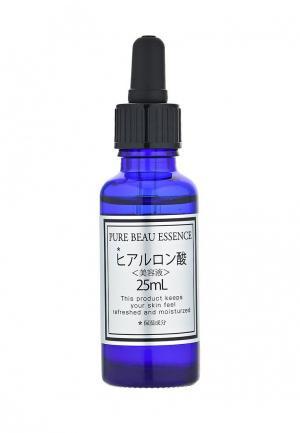 Сыворотка для лица Japan Gals с гиалуроновой кислотой Pure beau essence 25 мл. Цвет: белый