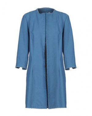 Легкое пальто LABORATORIO. Цвет: пастельно-синий