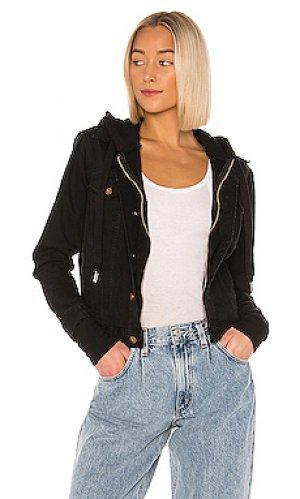 Джинсовая куртка nala NSF. Цвет: черный