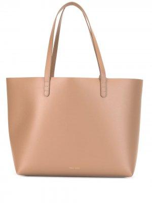 Большая сумка-тоут Mansur Gavriel. Цвет: коричневый
