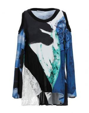 Блузка PARAKIAN. Цвет: синий