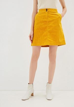Юбка Tom Tailor. Цвет: желтый