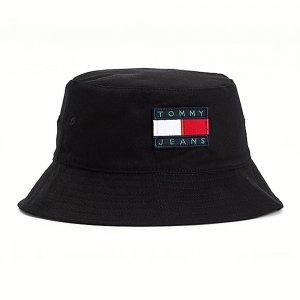 Heritage Bucket Hat Tommy Jeans. Цвет: черный