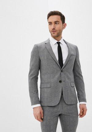 Пиджак Hugo Anfred204_WG. Цвет: серый