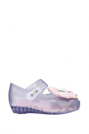 Туфли Melissa. Цвет: прозрачный