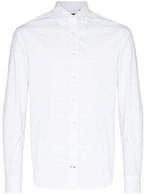Zephyr long-sleeve shirt Gitman Vintage. Цвет: белый