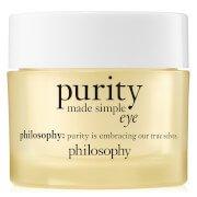 Увлажняющий гель для кожи вокруг глаз philosophy Purity Eye Gel 15 мл