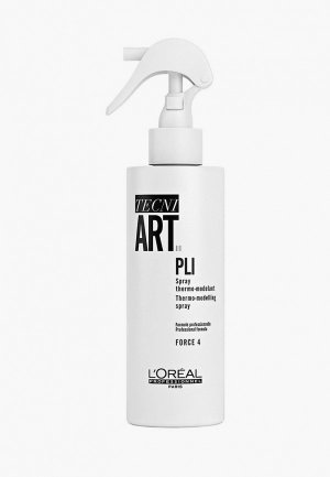 Спрей для укладки LOreal Professionnel L'Oreal термоактивный Tecni.Art Pli подготавливает волосы к укладке, 190 мл