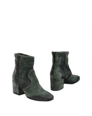Полусапоги и высокие ботинки ALBERTO FERMANI. Цвет: зеленый