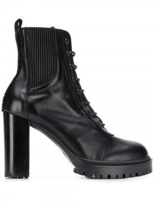 Спортивные ботинки Karl из коллаборации с Carine Lagerfeld. Цвет: черный