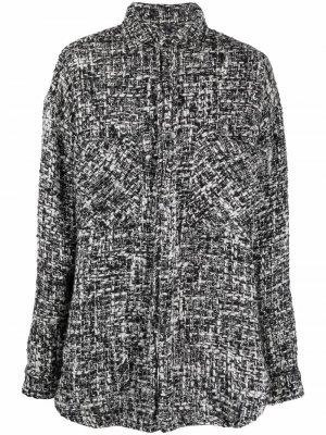 Куртка-рубашка на пуговицах Faith Connexion. Цвет: черный