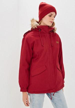 Куртка утепленная Billabong WESTWOOD. Цвет: бордовый