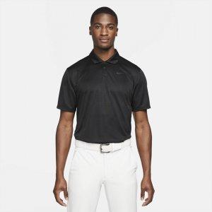 Мужская рубашка-поло для гольфа Dri-FIT Vapor - Черный Nike