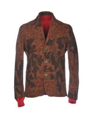 Пиджак THE EDITOR. Цвет: коричневый