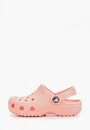 Сабо Crocs Classic Clog K. Цвет: розовый