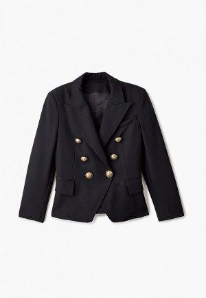 Пиджак Balmain. Цвет: черный