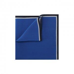 Шелковый платок Lanvin. Цвет: синий