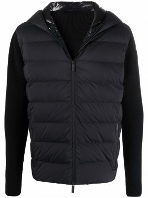 Стеганая куртка Moncler. Цвет: черный