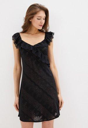 Сорочка ночная Balancelle. Цвет: черный