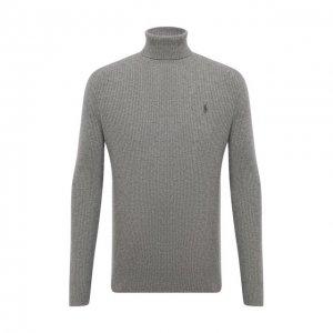 Шерстяной свитер Polo Ralph Lauren. Цвет: серый