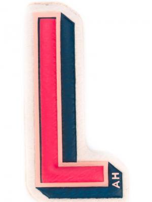 Наклейка L Anya Hindmarch. Цвет: разноцветный