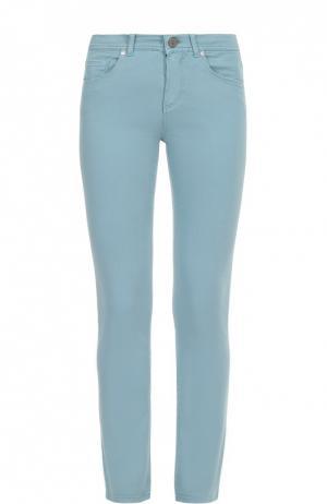 Укороченные джинсы Loro Piana. Цвет: голубой