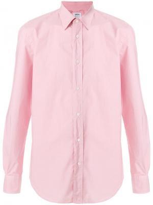 Рубашка с длинным рукавом Aspesi. Цвет: розовый