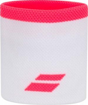 Напульсники Logo Babolat. Цвет: розовый