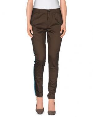 Повседневные брюки MACCHIA J. Цвет: темно-коричневый