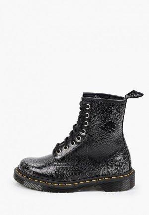 Ботинки Dr. Martens 1460-8 Eye Boot. Цвет: черный