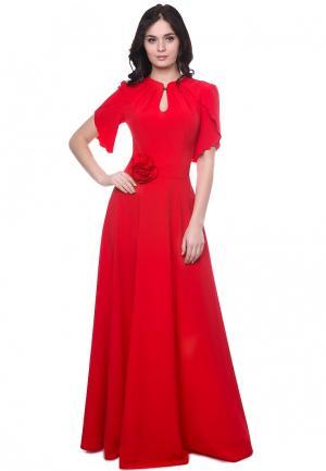 Платье Grey Cat NARDIN. Цвет: красный