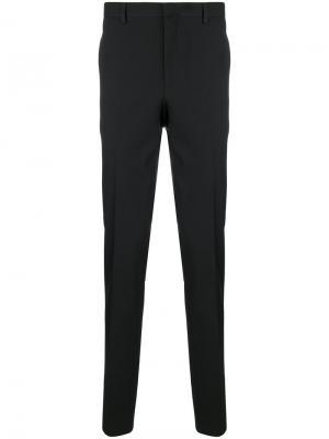 Классические брюки с контрастными панелями Givenchy. Цвет: черный