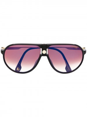 Солнцезащитные очки Carrera. Цвет: золотистый